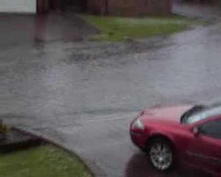 Flooding Stanton Hill April 2008
