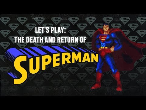 The Death and Return of Superman (SNES) Panels to Pixels