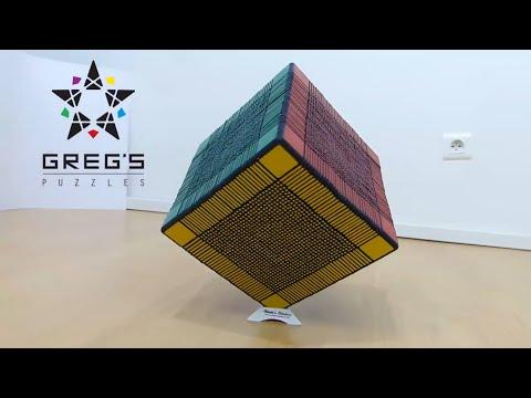WORLD RECORD 33x33x33 RUBIK