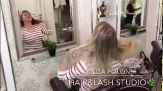 Микрокапсульное Наращивание Волос (часть 3)