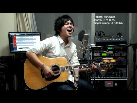 A Day In The Life The Beatles Martin 1974 D-45 古澤剛 Takeshi Furusawa