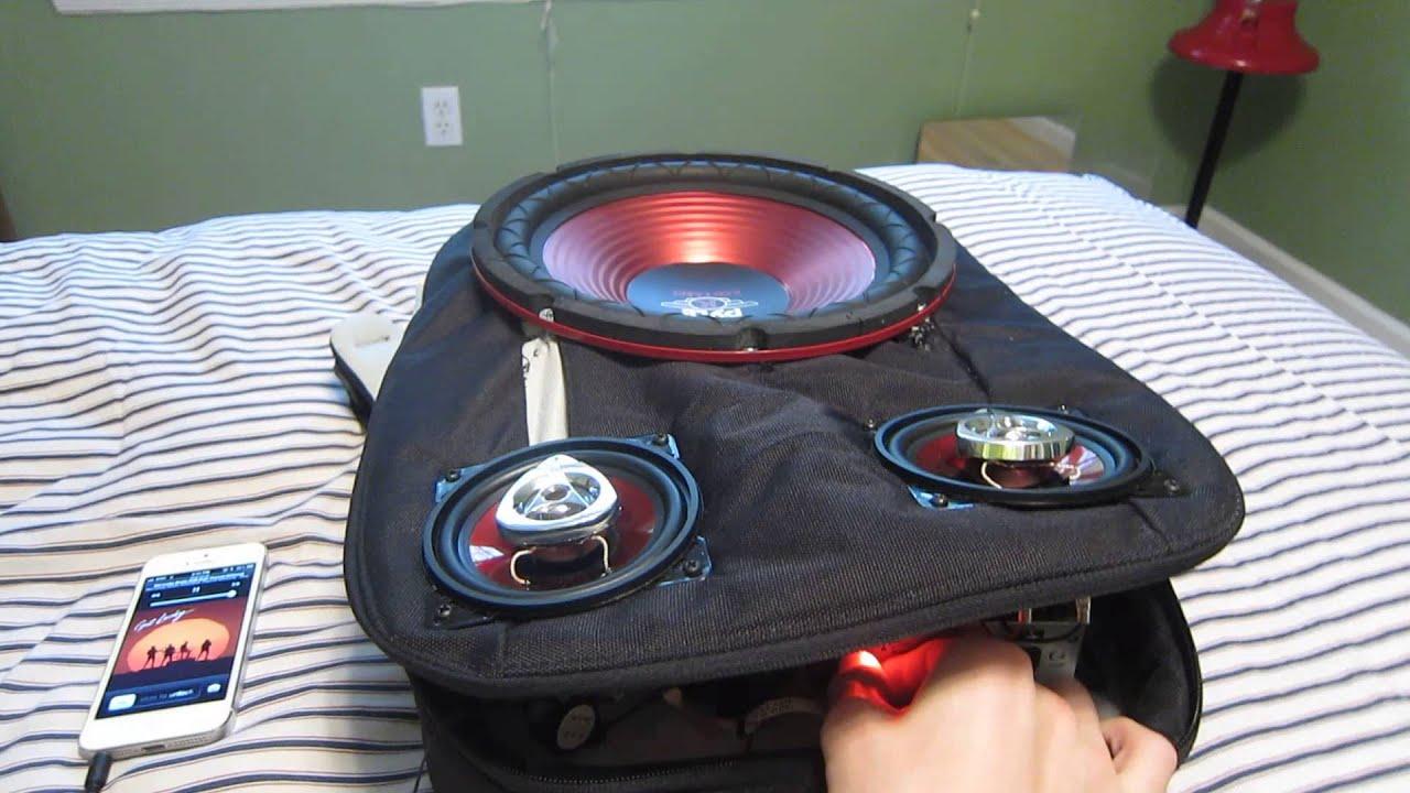 Speaker Backpack 2