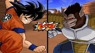 [TAS] DBZ BT3: Goku (Early) Vs. Great Ape Vegeta (Enhanced Red Potara) (Request Match)