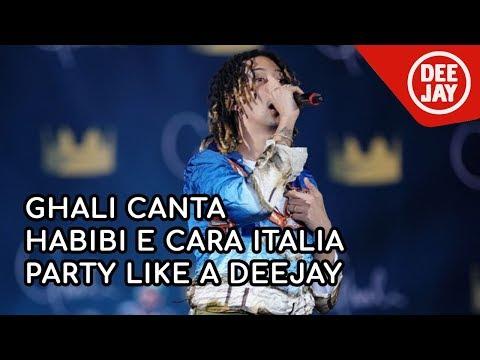 Ghali live: Habibi e Cara Italia - Party Like a Deejay / Bologna 2018