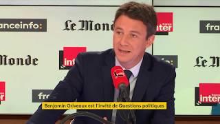 Benjamin Griveaux invité de Questions Politiques