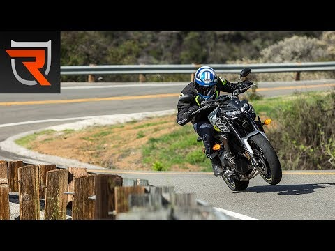 2017 Yamaha FZ-09 First Test Review Video | Riders Domain