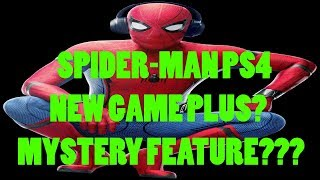 Spider-Man PS4 New Game Plus? Mystery Feature? Details Inside!