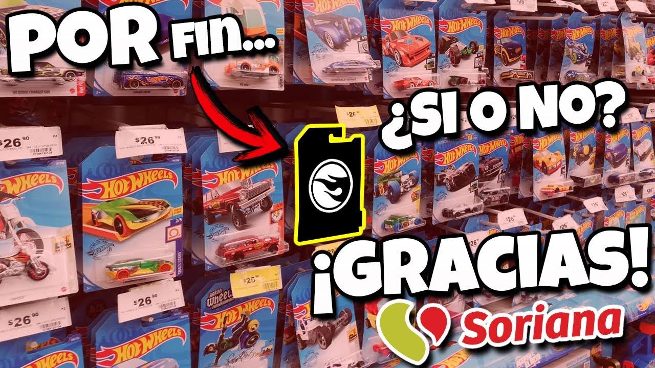 Encontre todo lo nuevo!!! -  De caceria en Soriana, Caceria Hot Wheels, Mini Racers Cars y Matchbox