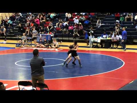 Jaden Hudgins #103 #McAdory Middle School Wrestling 7th grade 2014-2015 record 29-9