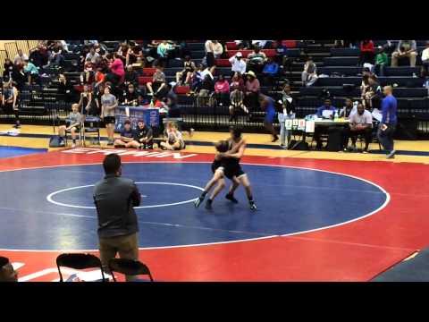 Jaden Hudgins #103 #McAdory Middle School Wrestling 7th grade 2014-2015 record 29-9