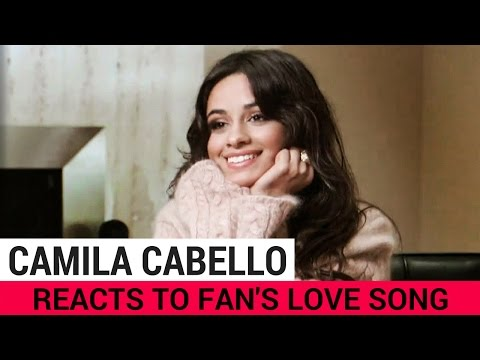 Camila Cabello Reacts To Fan's Love Song!