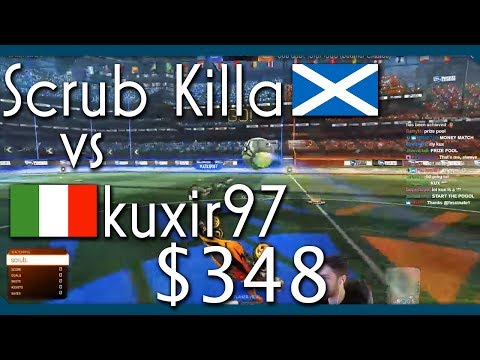 BEST 1v1 PLAYER IN THE WORLD?!! | Scrub (Rank 1) vs Kuxir97 (Rank 3) | $348 1v1 Showmatch