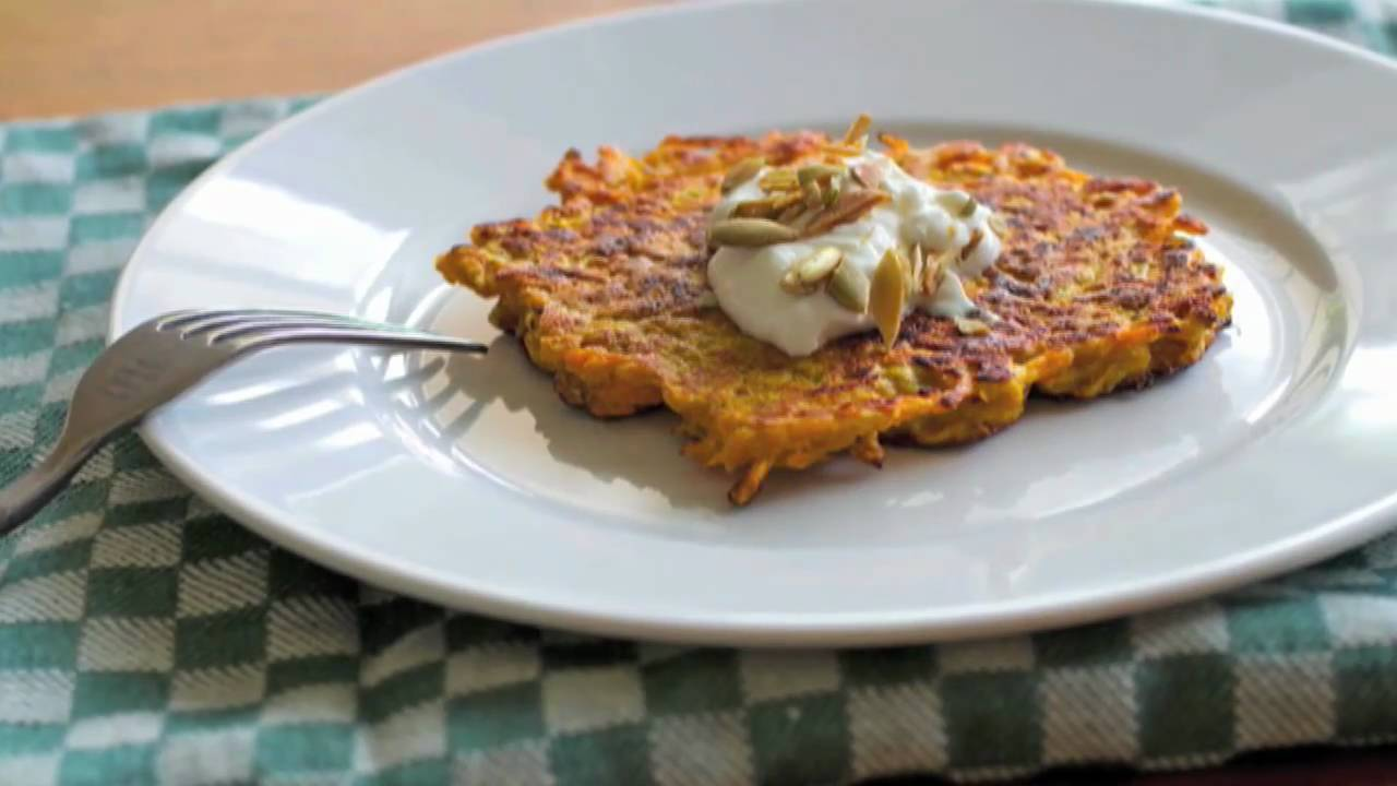 Crispy Butternut Squash Cakes Recipe