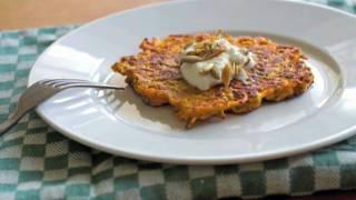Butternut Squash Cakes - Crispy Butternut Squash Cakes Recipe
