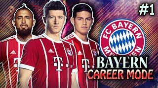 FIFA 18 Bayern Career Mode #1 - WE HIT THE TRANSFER WINDOW HARD! $58,200,000 SPENT ALREADY?!