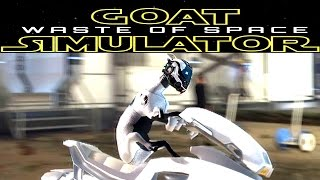 Goat Simulator: Waste of Space | PISICA MIAUMIAU are hoverbike DLC