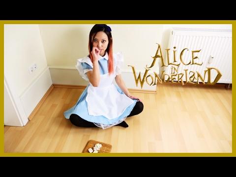 Alice in wonderland recipe & costume creative recipe #6 愛麗絲夢遊仙境椰絲牛奶小方
