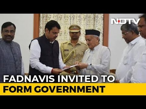 BJP Invited By Maharashtra Governor To Form Government