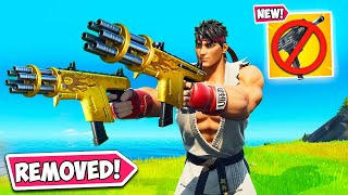 EPIC *REMOVED* THIS GUN AFTER 3 HRS!! - Fortnite Funny Fails and WTF Moments! 1189