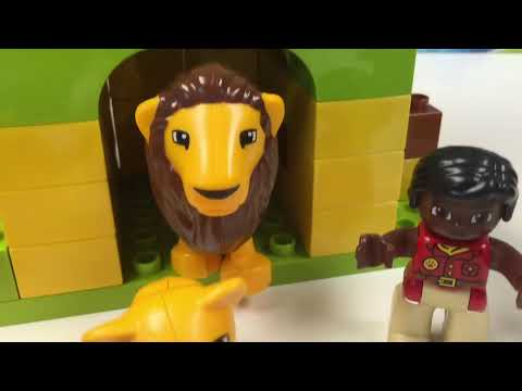 Lego Duplo 10805 Around The World Animals Whale Lions Tigers
