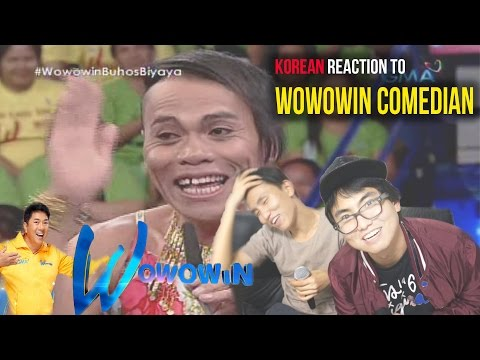 [Reaction #49] Koreans watch Filipino comedy show, WOWOWIN just for laughs!