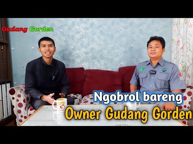 ASAL MULA CHANNEL YOUTUBE GUDANG GORDEN + TIPS MEMULAI BISNIS DI MASA PANDEMI | NGOBROL BARENG