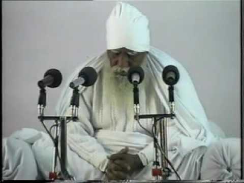 Param Sant Param Dayal Huzur TaraChand Ji Maharaj Satsang