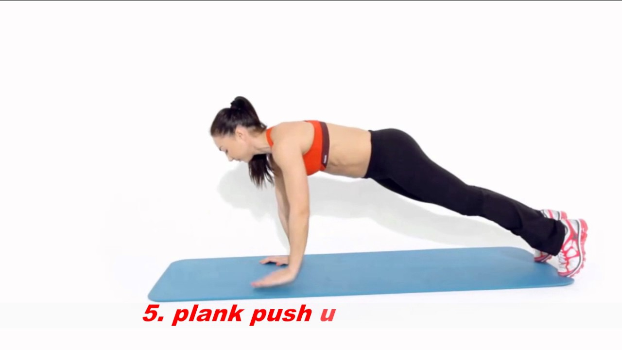 9 pack abs workout girl hot [ 9 bài tập bụng cho nữ ]