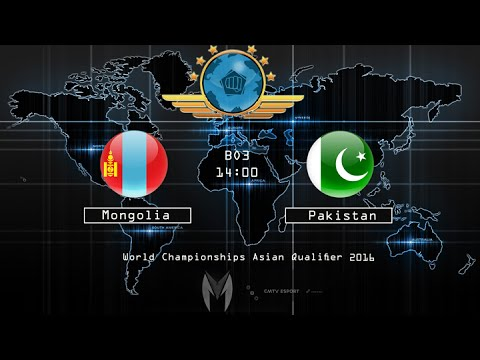 CS:GO -  Mongolia vs Pakistan‬  - BO3 - The World Championships 2016 – Asian Qualifier  23-06-2016