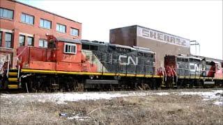 OLDEST CN LOCOMOTIVES STILL IN ACTION