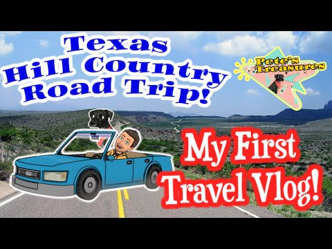 My First Travel Vlog! Come Shop with Us! Texas Hill Country: Antiques, Thrift and Shenanigans!
