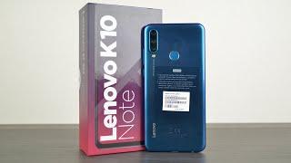 Lenovo K10 Note - самый стильный доступный смартфон!