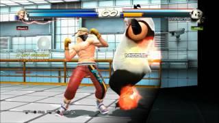 BB8.  Tigerheart - Steve Fox Video Combo - Tekken Tag Tournament 2.