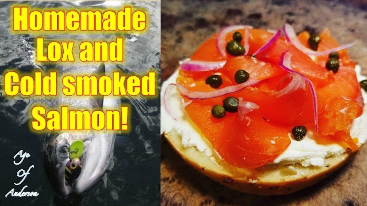 Homemade Lox and Cold-Smoked Salmon