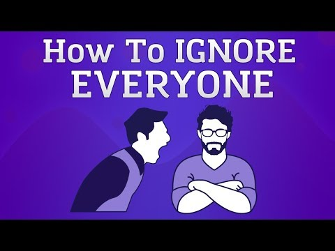 How To Ignore People (Animated)