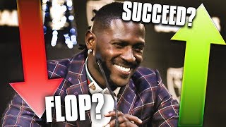 5 Reasons Why Antonio Brown Will SUCCEED in Oakland... and 5 Reasons why He'll FLOP