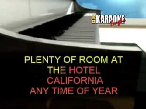 hotel california karaoke youtube. Black Bedroom Furniture Sets. Home Design Ideas