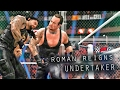 WWE 2K17 THE UNDERTAKER VS ROMAN REIGNS HELL IN A CELL
