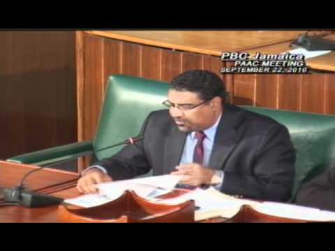 Jamaican Public Sector Transformation - PAAC Consultations - Chairman Opening Remarks