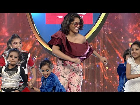 D5 Junior I Bhavana & Saniya performs with little stars I Mazhavil Manorama