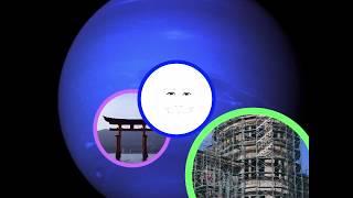 なんとなく描いて見た。 背景の星は海王星(ネプチューン)。 ブログ「...