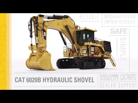 Introducing the Cat® 6020B Hydraulic Shovel