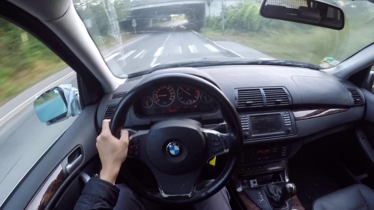 BMW X5 e53 3.0d (2006) - POV Drive