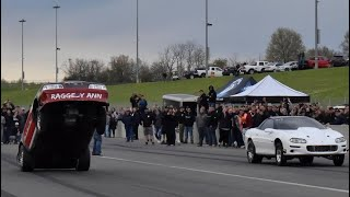 """HUGE Wheelies and Fast passes on BARE Blacktop at """"The Rewind"""""""