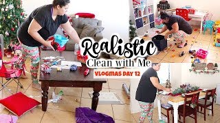 Realistic Clean With Me *motivational* || VLOGMAS DAY 12 2018