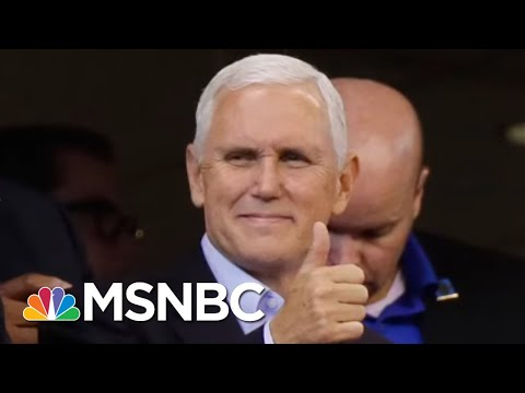 Mike Pence Thinks He's #Winning On The NFL Kneeling Issue | All In | MSNBC