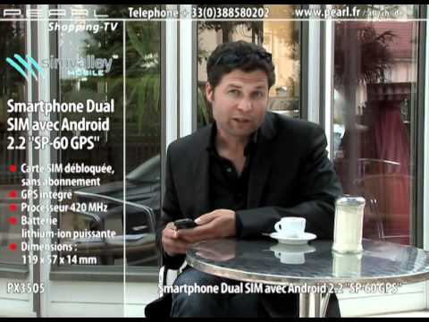 SMARTPHONE ANDROID DUAL SIM SP-60 GPS