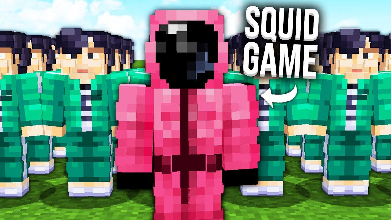Download J'ai reconstruit les épreuves de Squid Game dans Minecraft...