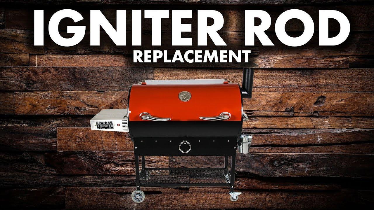 rt 680 ignitor rod repair rec tec grills [ 1280 x 720 Pixel ]
