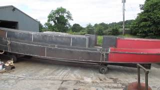 Lovely Leitrim Barge Out Of Shed